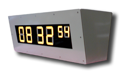 m373 exterior led time display